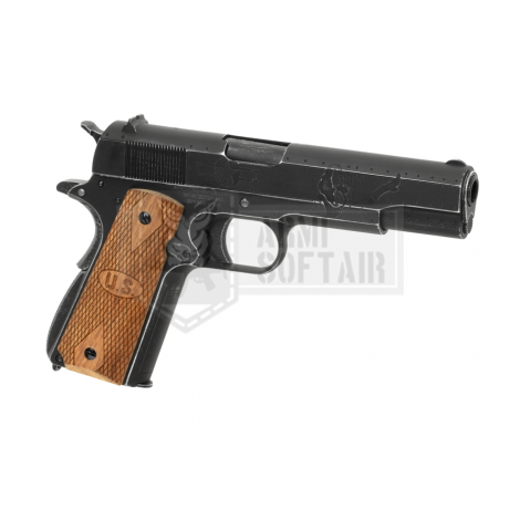 CYBERGUN AW CUSTOM COLT 1911 Auto Ordnance 1911 Victory Girl Full Metal - CYBERGUN