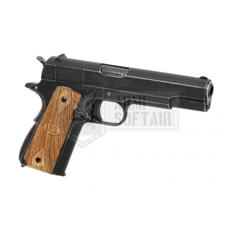 CYBERGUN AW CUSTOM COLT 1911 Auto Ordnance 1911 Fly Girl Full Metal - CYBERGUN