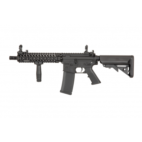 SPECNA ARMS MK18 Daniel Defence® SA-E19 EDGE MOSFET X-ASR FULL METAL NERO BLACK - SPECNA ARMS