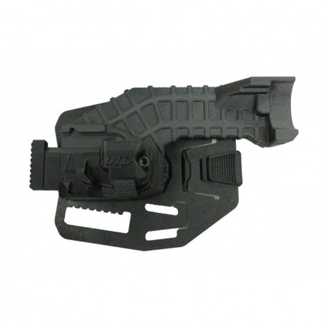 DTD HOLSTER FONDINA MK23 RIGIDA SGANCIO RAPIDO DESTRA (RIGHT) - DTD Double Tap Designs
