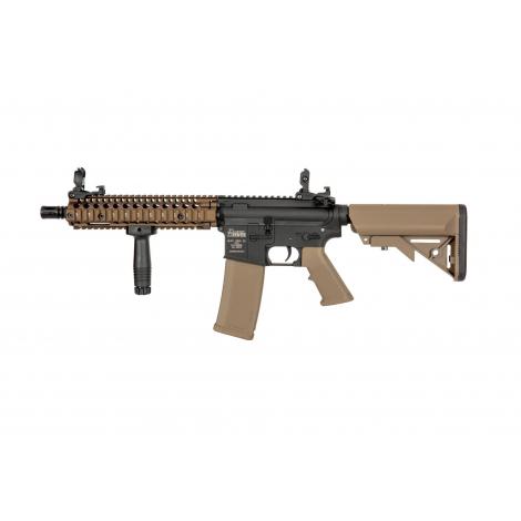 SPECNA ARMS MK18 Daniel Defence® SA-C19 CORE BLACK Chaos Bronze TAN - SPECNA ARMS
