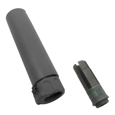 5KU SILENZIATORE SF 556 socom ver.2 14 mm- CCW WITH FLASH HIDER NERO BLACK - 5KU