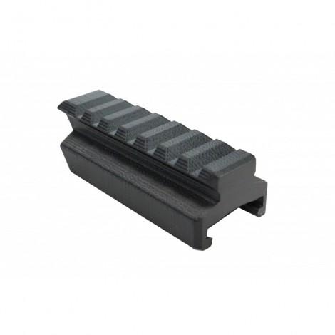E.S CUSTOM MK23 RAIL ADAPTER NERO BLACK - E.S CUSTOM WORKS 100% made in Italy