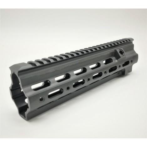 """5KU GEISELLE SMR RAIL G STYLE 9.5 """" NERO BLACK PER FUCILI HK 416 - 5KU"""