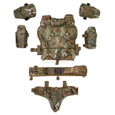 WOSPORT TATTICO FUTURE SOLDIER RONI GHOST TACTICAL ARMOR SUIT MULTICAM MC - WOSPORT