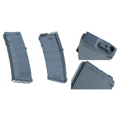 EXP CARICATORE M4 MONOFILARE 140 bb Pmag WOLF GREY - MADE IN CHINA