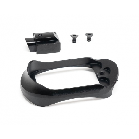 ACTION ARMY AAP01 MAGWELL IN ALLUMINIO CNC NERO BLACK - ACTION ARMY