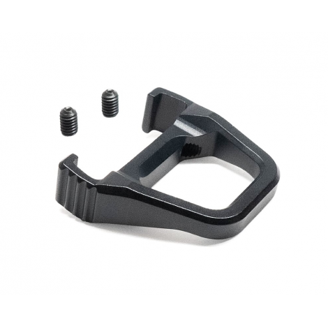 ACTION ARMY AAP01 LEVA CARICAMENTO IN ALLUMINIO CNC CHARGING HANDLE RING NERO BLACK - ACTION ARMY