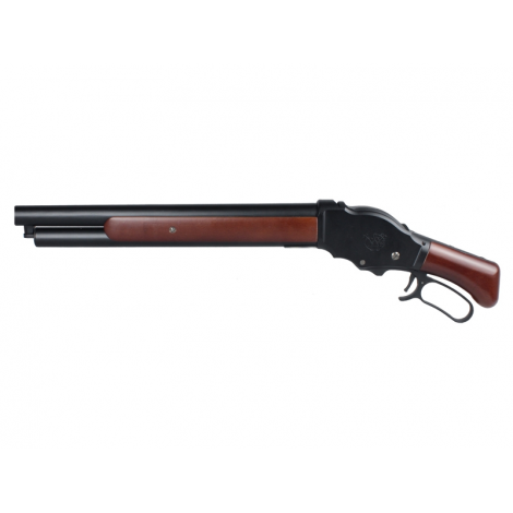 S&T FUCILE TERMINATOR M1887 A GAS Shell Ejecting Shot Gun REAL WOOD VERO LEGNO - S&T