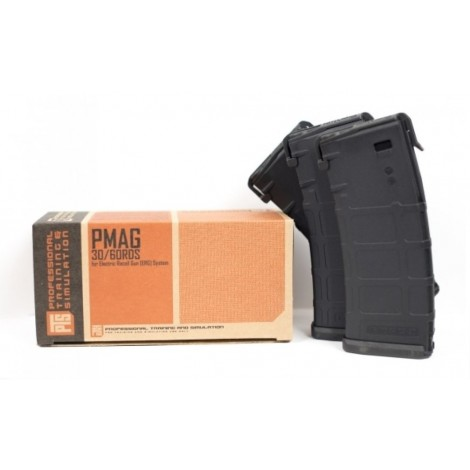 PTS CARICATORE PMAG ERG RM4 / CENTURION BOX DA 3 PEZZI NERO - PTS