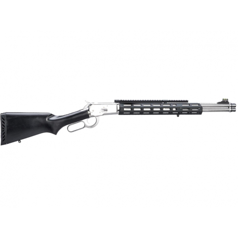 MARUSHIN Raptor Zero 1892 Tactical Winchester Under Lever Gas Shotgun BLACK / SILVER - MARUSHIN