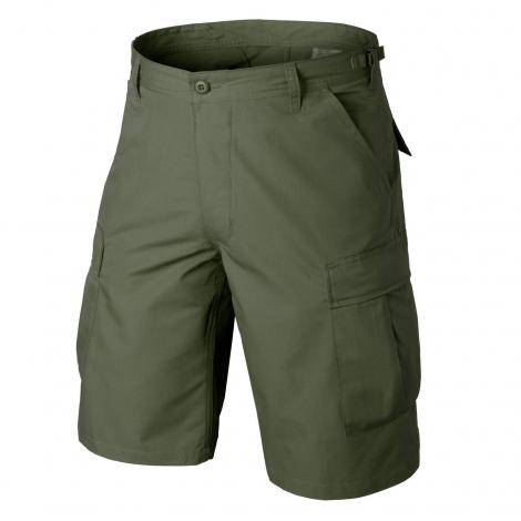 HELIKON PANTALONI BDU Shorts - Cotton Ripstop - Olive Green VERDI - HELIKON
