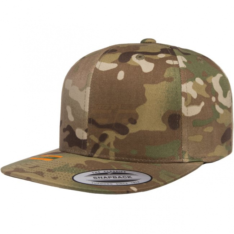 FLEXFIT CAPPELLO CLASSIC SNAPBACK GENUINE MULTICAM MC CAMO TAGLIA UNICA - FLEXFIT