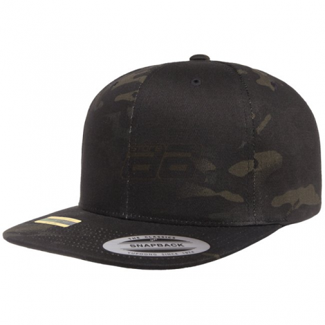 FLEXFIT CAPPELLO CLASSIC SNAPBACK GENUINE MULTICAM BLACK MC CAMO TAGLIA UNICA - FLEXFIT