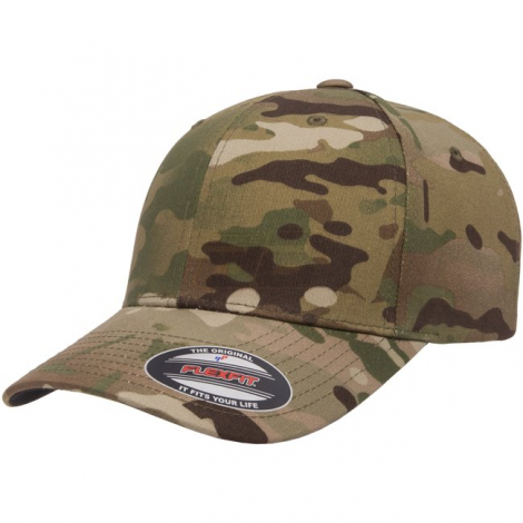 FLEXFIT CAPPELLO CLASSIC BASEBALL GENUINE MULTICAM MC CAMO TAGLIA S/M - FLEXFIT