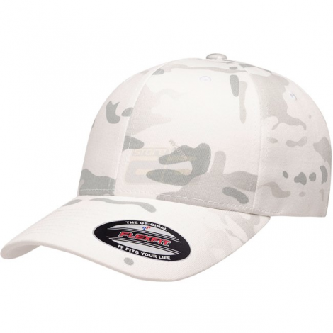 FLEXFIT CAPPELLO CLASSIC BASEBALL GENUINE MULTICAM ALPINE MC CAMO TAGLIA S/M - FLEXFIT