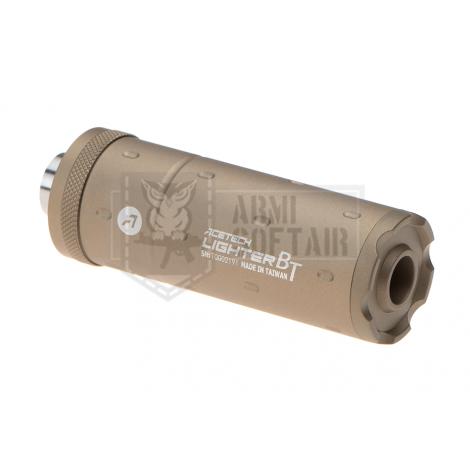 Acetech TRACER UNIT Lighter BT Unit Concave SILENZIATORE CORTO TRACCIANTE TAN DESERT - Acetech