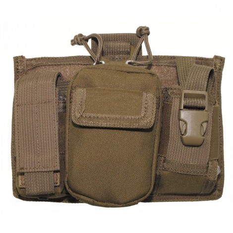 TASCA Mobile Phone Bag MOLLE COYOTE CB TAN - MFH