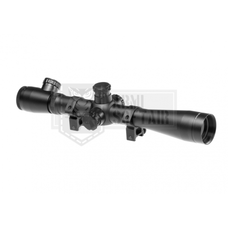 AIM O OTTICA TATTICA PROFESSIONALE IN METALLO MODELLO 3.5-10x40E-SF Sniper NERA - AIM-O