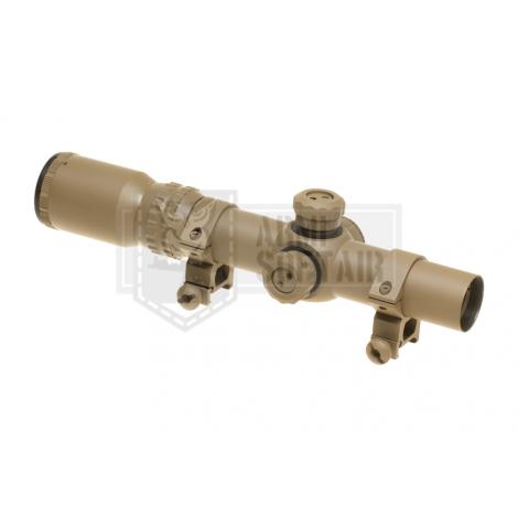 AIM O OTTICA TATTICA PROFESSIONALE IN METALLO MODELLO 1-4X24-SF Sniper TAN DESERT - AIM-O